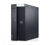 Workstation DELL Precision T5600, 2 x Intel OCTA Core Xeon E5-2670 2.60GHz, 64GB DDR3 ECC, 500GB SSD, nVidia Quadro K4000, DVDRW, GARANTIE 3 ANI