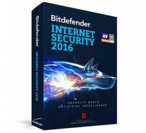 Bitdefender Internet Security 2016, 1 PC, 1 AN, Retail