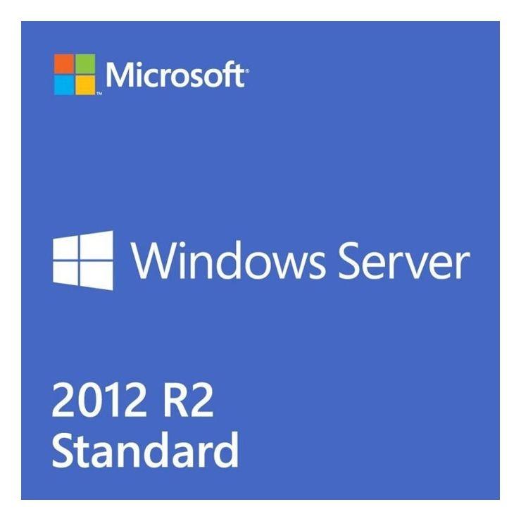 Microsoft Server 2012 R2 Standard, 2 CPU, OEM DSP OEI