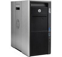 HP Z820 Workstation, 2 x Intel OCTA Core Xeon E5-2670 2.60 GHz, 32GB DDR3 ECC, 500GB SSD, nVidia Quadro K2200, DVDRW, GARANTIE 3 ANI