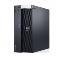 Workstation DELL Precision T5600, 2 x Intel OCTA Core Xeon E5-2670 2.60GHz, 64GB DDR3 ECC, 250GB SSD + 2TB HDD, nVidia Quadro 5000, DVDRW, GARANTIE 3 ANI