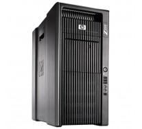 HP Z800 Workstation, 2 x Intel HEXA Core Xeon X5680 3.33GHz, 48GB DDR3 ECC, 256GB SSD + 2TB HDD, DVDRW, nVidia Quadro 5000, GARANTIE 3 ANI
