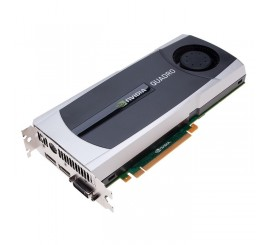 Placa video nVidia Quadro 6000, 6GB GDDR5, 384bit, 1 x DVI, 2 x DisplayPort