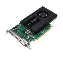 Placa video nVidia Quadro K2000, 2GB GDDR5, 128bit, 1 x DVI, 2 x DisplayPort