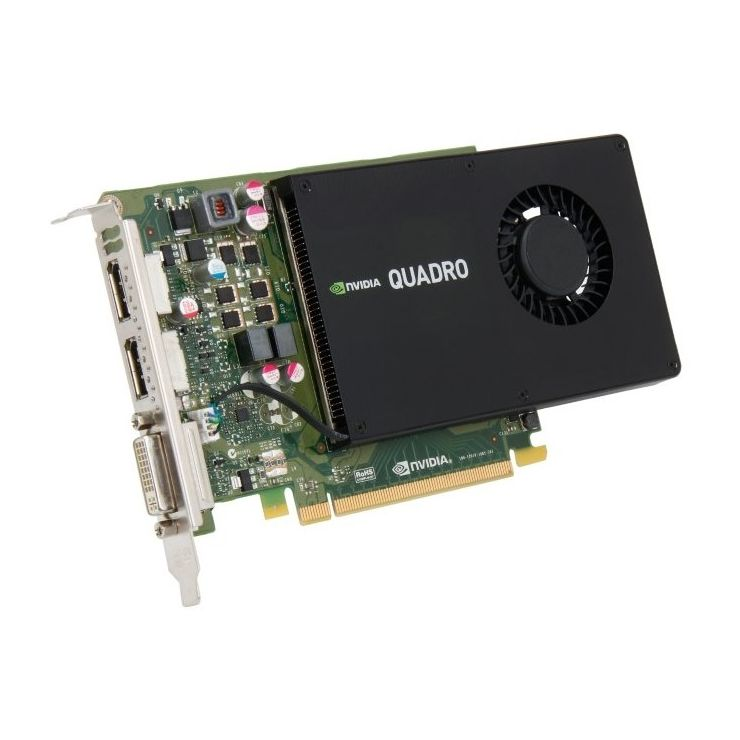 Placa video nVidia Quadro K2200, 4GB GDDR5, 128bit, 1 x DVI, 2 x DisplayPort