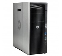 HP Z620 Workstation, 2 x Intel HEXA Core Xeon E5-2640 2.50 GHz, 64GB DDR3 ECC, 128GB SSD + 500GB HDD, nVidia Quadro 4000, DVDRW, GARANTIE 3 ANI