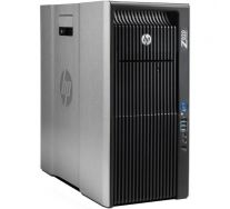 HP Z820 Workstation, 2 x Intel HEXA Core Xeon E5-2640 2.50 GHz, 32GB DDR3 ECC, 128GB SSD + 1TB HDD, nVidia Quadro K4000, DVDRW, GARANTIE 3 ANI
