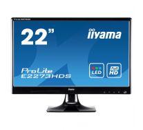 """Monitor 21.5"""" IIYAMA Prolite E2243HDS, LED, GARANTIE 2 ANI"""