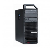 LENOVO ThinkStation S20 Workstation, Intel HEXA Core Xeon W3690 3.46 GHz, 12GB DDR3, 256GB SSD + 1TB HDD, DVD, nVidia Quadro 4000, GARANTIE 3 ANI