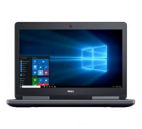 "DELL Precision 7510 15.6"" UHD 4K, Intel Core i7-6920HQ 2.90 GHz, 16GB DDR4, 256GB SSD, nVidia Quadro M2000M, GARANTIE 2 ANI"