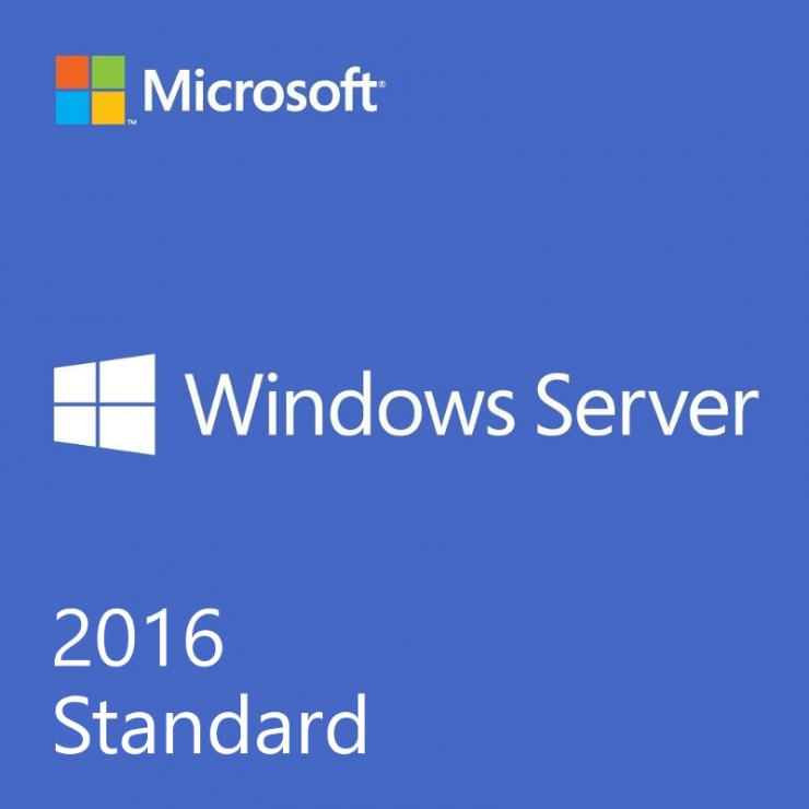 Microsoft Server 2016 Standard, 1 Licenta, 16 Core, OEM DSP OEI