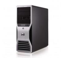 DELL Precision T5500 Workstation, 2 x Intel HEXA Core Xeon X5650 2.66GHz, 24GB DDR3 ECC, 250GB SSD, nVidia Quadro FX 3800, DVDRW, GARANTIE 3 ANI
