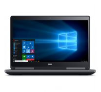 "DELL Precision 7710 17.3"" FHD, Intel Core i7-6820HQ 2.70 GHz, 16GB DDR4, 256GB SSD + 1TB HDD, nVidia Quadro M3000M, Webcam, GARANTIE 2 ANI"