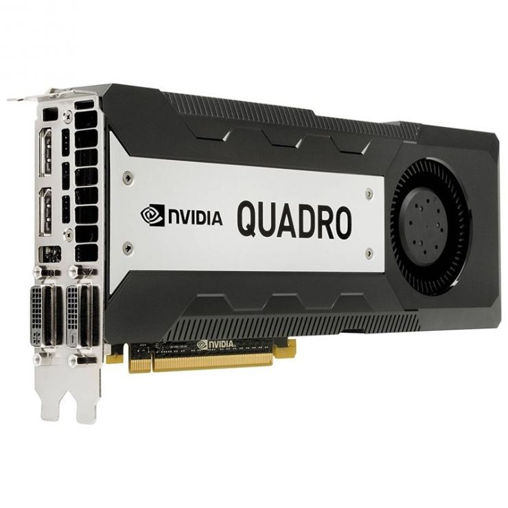 Placa video nVidia Quadro K6000, 12GB GDDR5, 384bit, 2 x DVI, 2 x DisplayPort