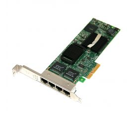 Placa de retea DELL Intel PRO/1000 VT, 10/100/1000, 4 Porturi RJ-45, Full Profile