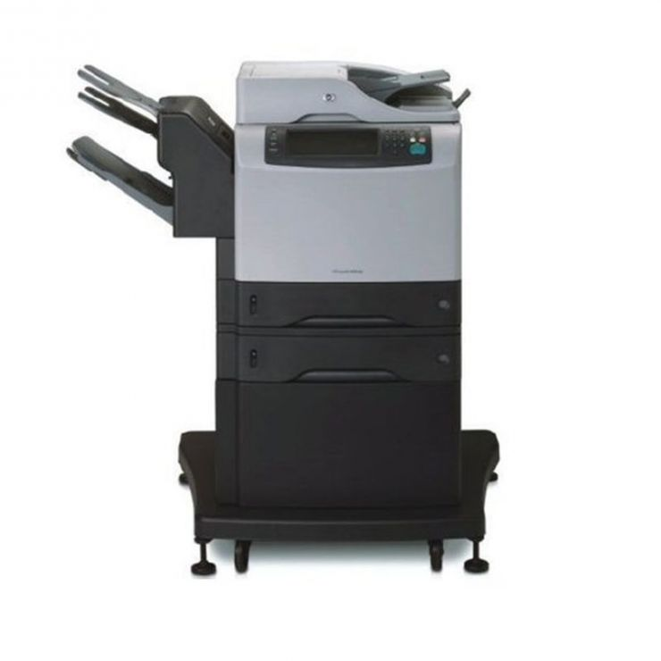 Multifunctional HP LaserJet M4345xm MFP, Duplex, ADF, Fax, Monocrom, A4, Toner plin, Fully Refurbished