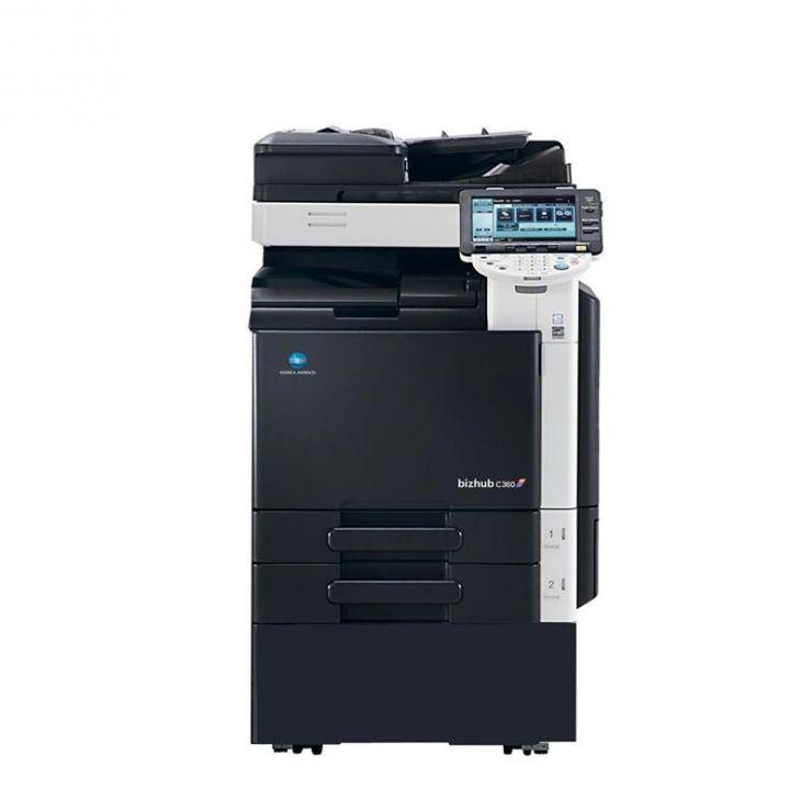 Copiator profesional KONICA MINOLTA Bizhub C360, Duplex, ADF, Color, A3, Tonere pline, Fully refurbished