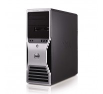 DELL Precision T5500 Workstation, 2 x Intel HEXA Core Xeon E5645 2.40GHz, 24GB DDR3 ECC, 2 x 300GB HDD SAS, DVDRW, nVidia Quadro 4000, GARANTIE 3 ANI