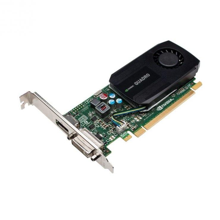 Placa video nVidia Quadro K600, 1GB DDR3, 128bit, 1 x DVI, 1 x DisplayPort