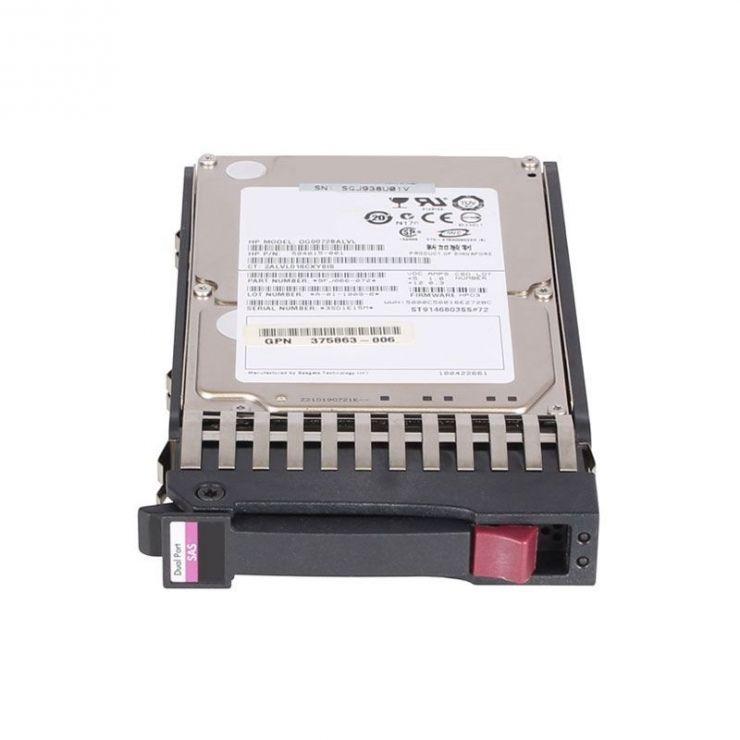 "Hard Disk SAS 2.5"", 600GB, 10.000rpm, compatibil HP ProLiant ML/DL G5, G6, G7"