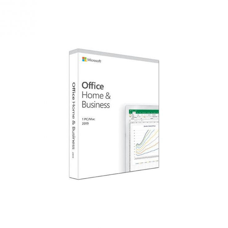 Microsoft Office Home & Business 2019, Medialess, English, FPP ESD