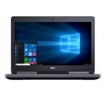 """DELL Precision 7510 15.6"""" FHD, Intel Xeon QUAD Core E3-1505 V5 2.80GHz, 16GB DDR4, 512GB SSD, nVidia Quadro M1000M, GARANTIE 2 ANI"""