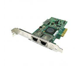Placa de retea DELL Broadcom 5709, 10/100/1000, 2 Porturi RJ-45, Full Profile